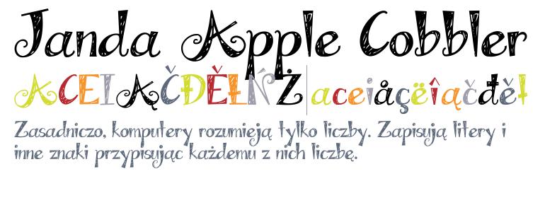 Janda Apple Cobbler Regular Fonts Com