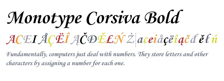 Monotype Corsiva Bold For Mac