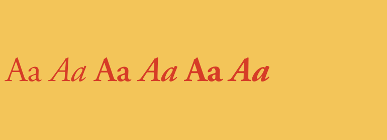 Download Adobe Garamond Complete Family Pack | Fonts.com