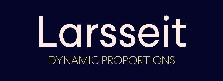 Larsseit Font Family Fonts Com