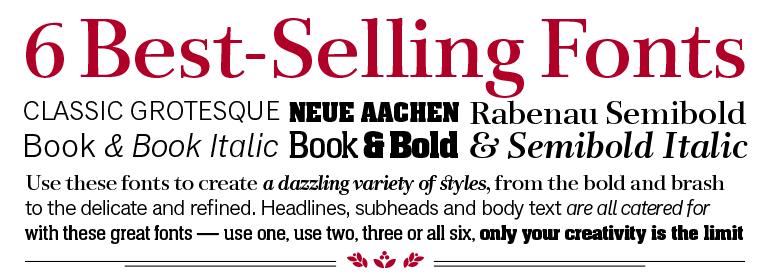 Download Best Sellers Pack | Fonts.com